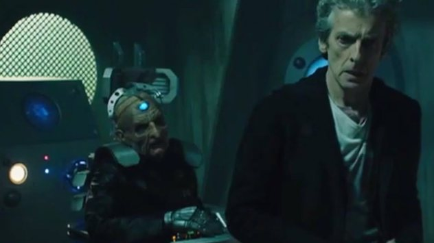 Doctor and Davros
