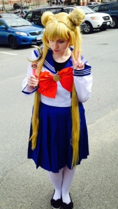 Usagi School Girl Look ~ I think this was for the first Chasecon? Wow, I've improved greatly since then. So excited!!