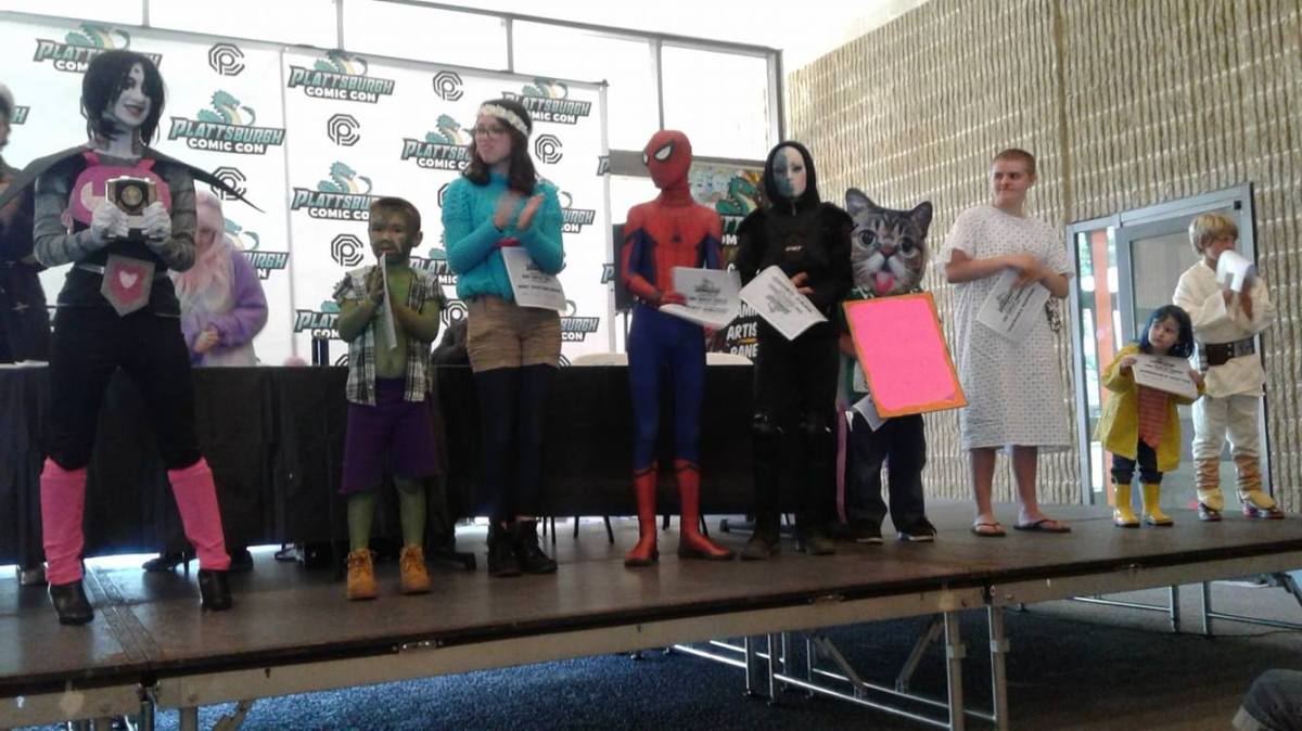 Plattsburgh Comic Con: Kid's Cosplay Contest Photos